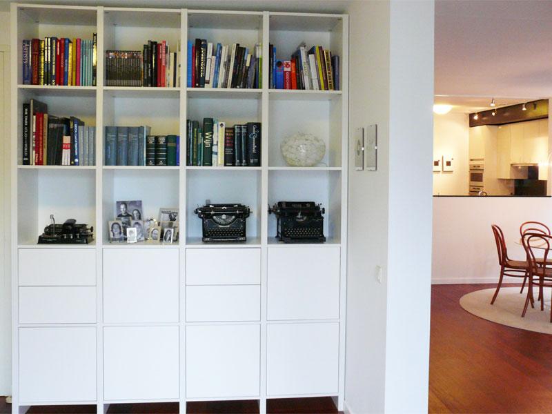 fabulous bibliotheek kast op maat arnhem with boekenkast op maat prijzen