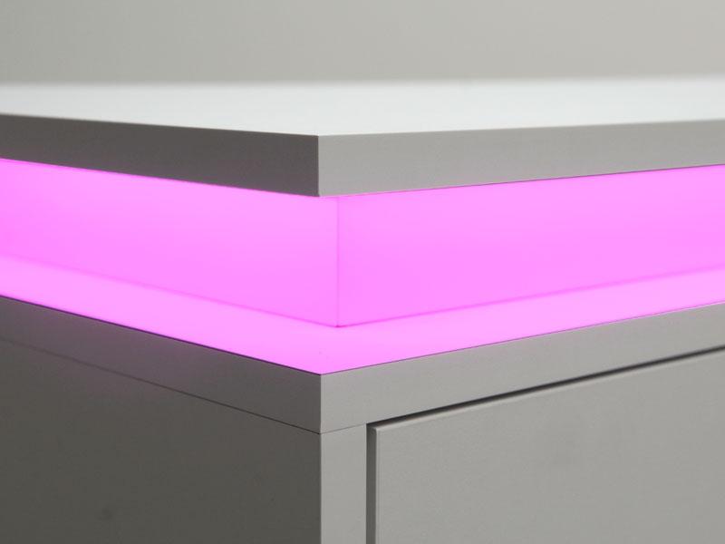 TV meubel met LED verlichting - Mijn Kasten op Maat
