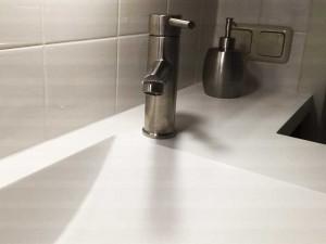 RVS kraan badkamermeubel