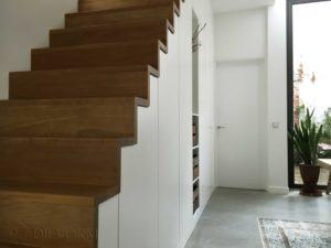 trapkast aanzicht-trap