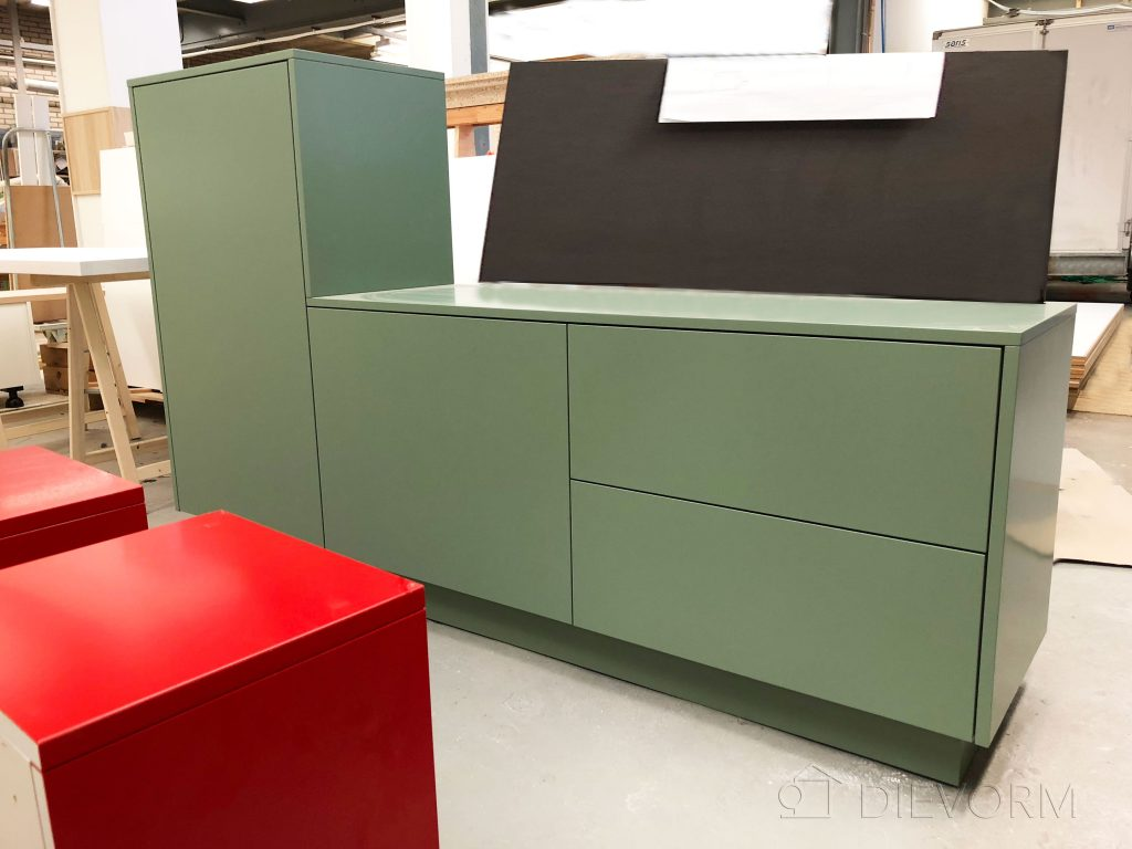 dressoir groene kast