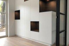 Kast-Velp-Inbouw-Opmaat-Op-Maat-Vakken-Strak-Design-Wit-Hout