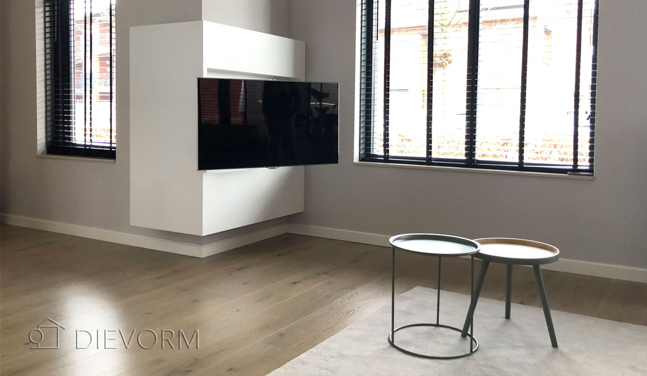 TV-Meubel-Kast-Inbouw-Modern-Wit-Hangend-Beugel