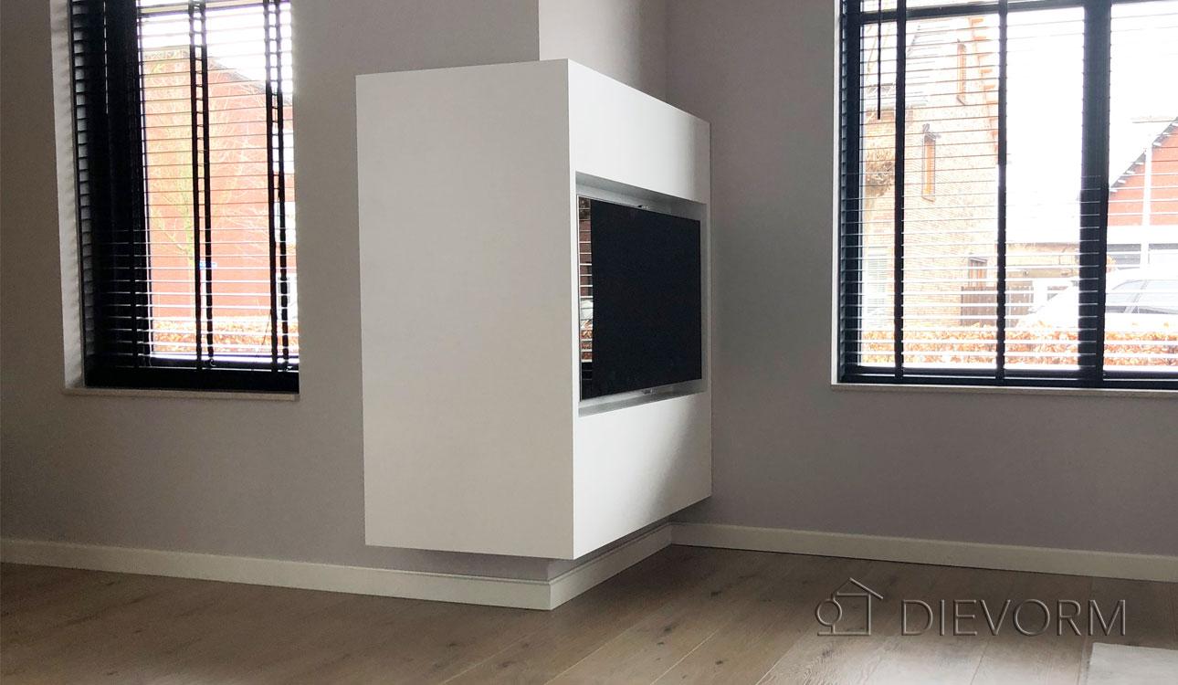 Mooi Wit Tv Meubel.Tv Meubel Op Maat In Nijmegen Meubelmaker Arnhem Dievorm Natuurlijk